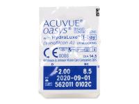 Acuvue Oasys 1-Day (30 leč) - Predogled blister embalaže