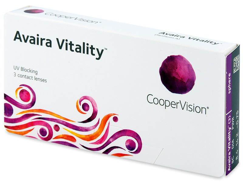 Contact lenses - Avaira Vitality (3 leče)