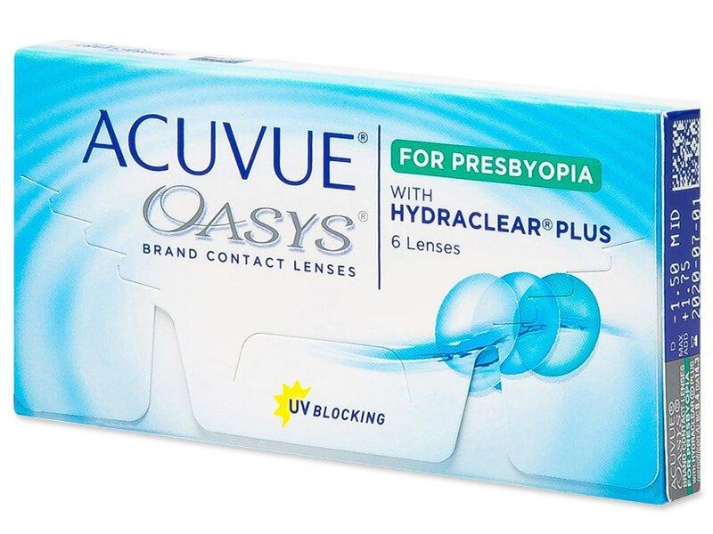 Multifokalne kontaktne leče - Acuvue Oasys for Presbyopia (6 leč)