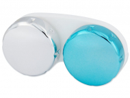 Škatlice za kontaktne leče - Škatlica zrcalna - modra
