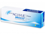 Kontaktne leče Johnson and Johnson - 1 Day Acuvue Moist (30 leč)