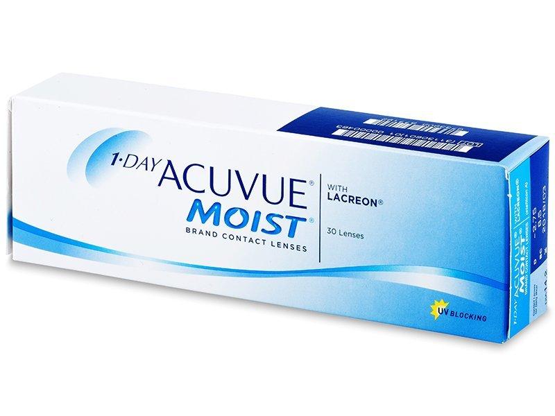 Dnevne kontaktne leče - 1 Day Acuvue Moist (30leč)