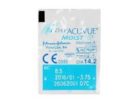 1 Day Acuvue Moist (30leč) - Predogled blister embalaže