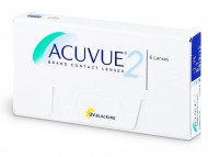 Kontaktne leče Johnson and Johnson - Acuvue 2 (6 leč)
