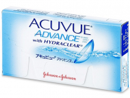 Kontaktne leče Johnson and Johnson - Acuvue Advance (6 leč)