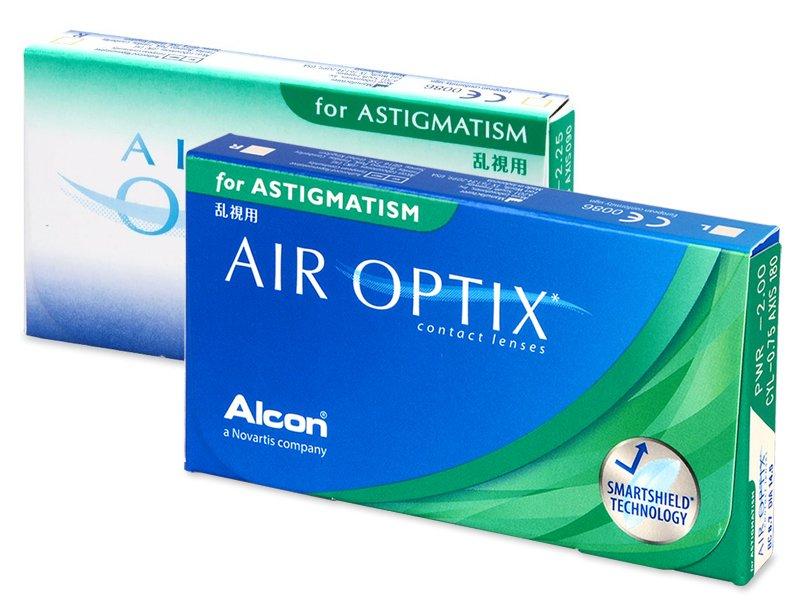 Torične kontaktne leče - Air Optix for Astigmatism (3leče)