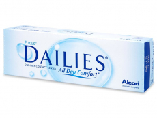 Focus Dailies All Day Comfort (30 leč) - Dnevne kontaktne leče