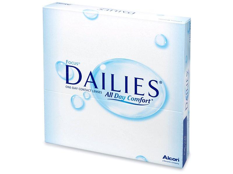 Focus Dailies All Day Comfort (90leč) - Dnevne kontaktne leče