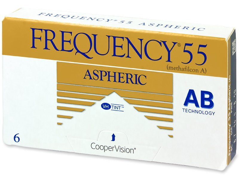 Mesečne kontaktne leče - Frequency 55 Aspheric (6leč)