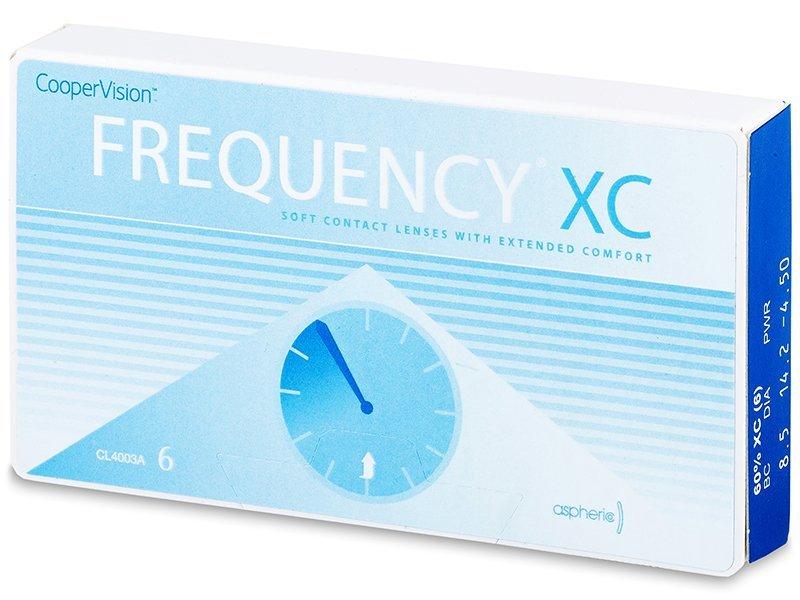 Mesečne kontaktne leče - FREQUENCY XC (6leč)