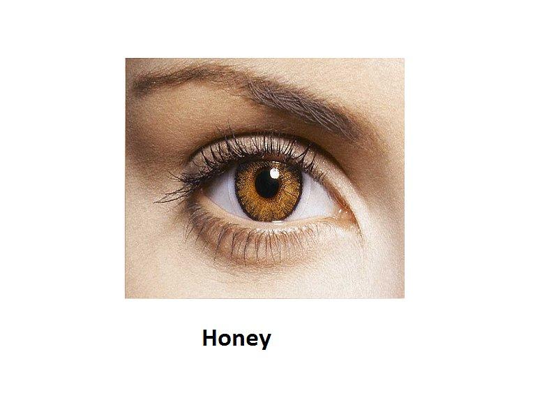 FreshLook ColorBlends - z dioptrijo (2leči) - Honey