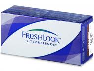 Barvne kontaktne leče - FreshLook ColorBlends - brez dioptrije (2leči)