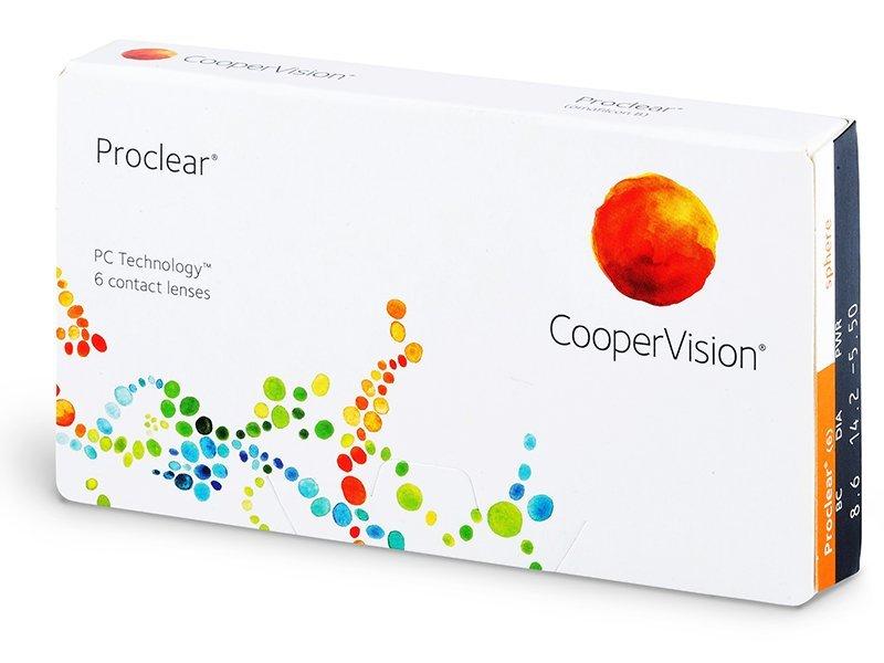 Mesečne kontaktne leče - Proclear Compatibles Sphere (6leč)