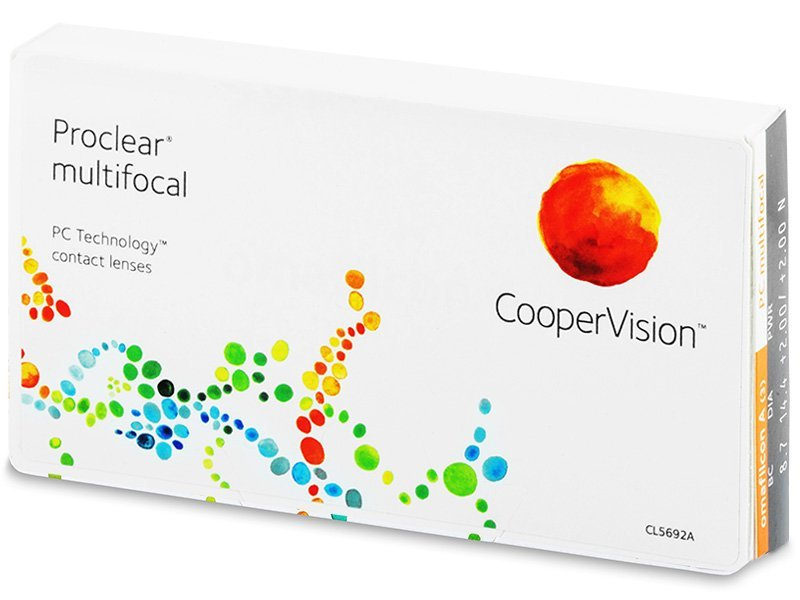 Multifokalne kontaktne leče - Proclear Multifocal (3leče)