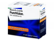 Mesečne kontaktne leče - PureVision Toric (6leč)