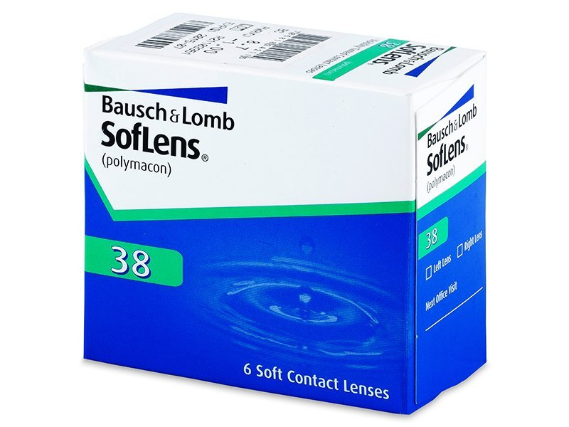 Mesečne kontaktne leče - SofLens 38 (6 leč)