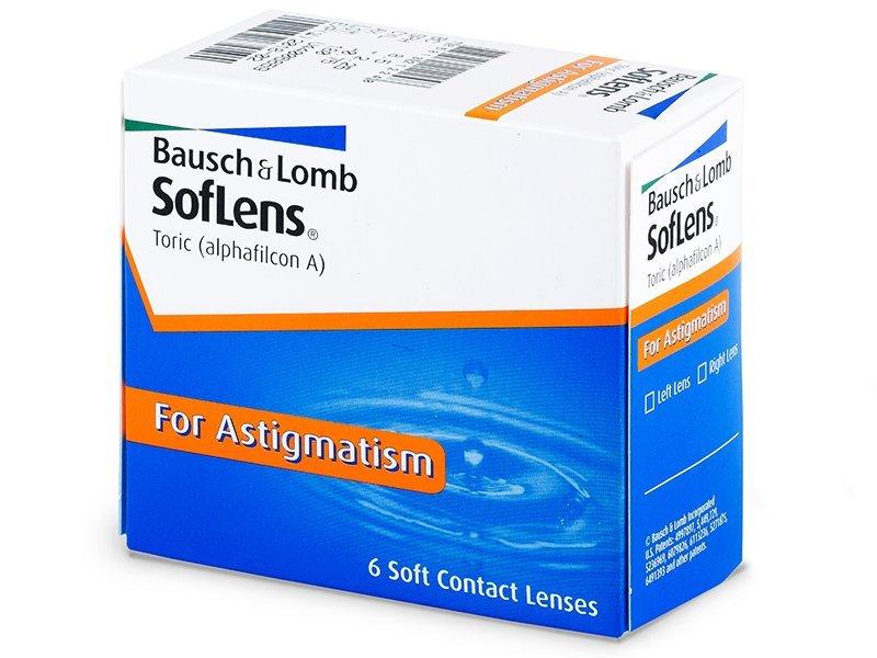 Torične kontaktne leče - SofLens Toric (6 leč)