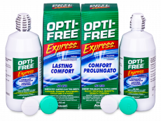 Tekočina OPTI-FREE Express 2x355ml  - Economy duo pack- solution