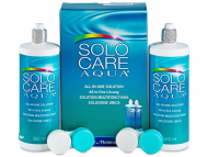 Paketi tekočin za kontaktne leče - Tekočina SoloCare Aqua 2x360ml