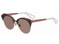 Extravagant sončna očala - Dior DIORAMA CLUB EYM/AP