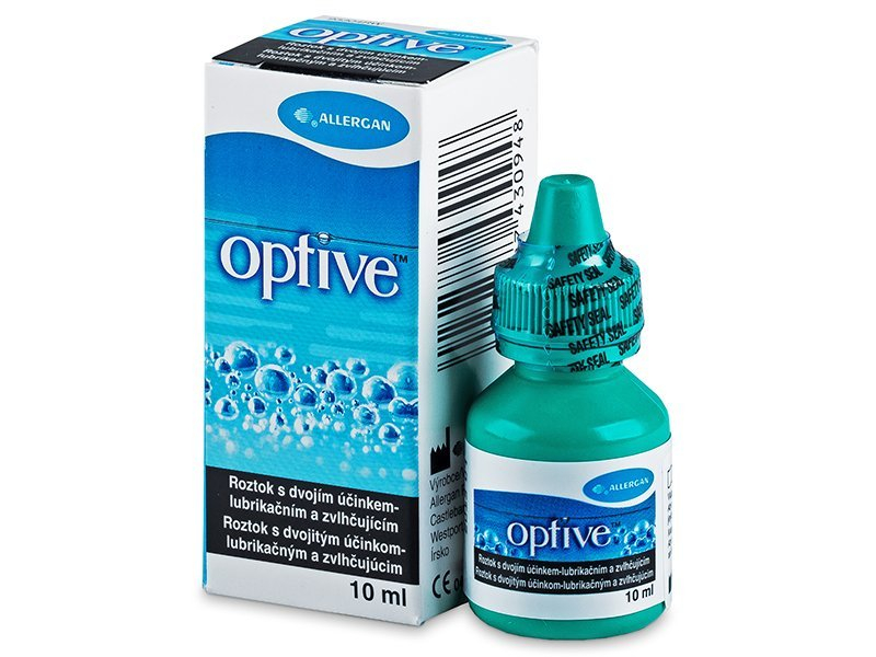 Kapljice za oči OPTIVE 10 ml  - Starejši dizajn