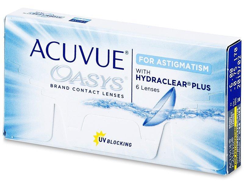 Acuvue Oasys for Astigmatism (6leč) - Torične kontaktne leče
