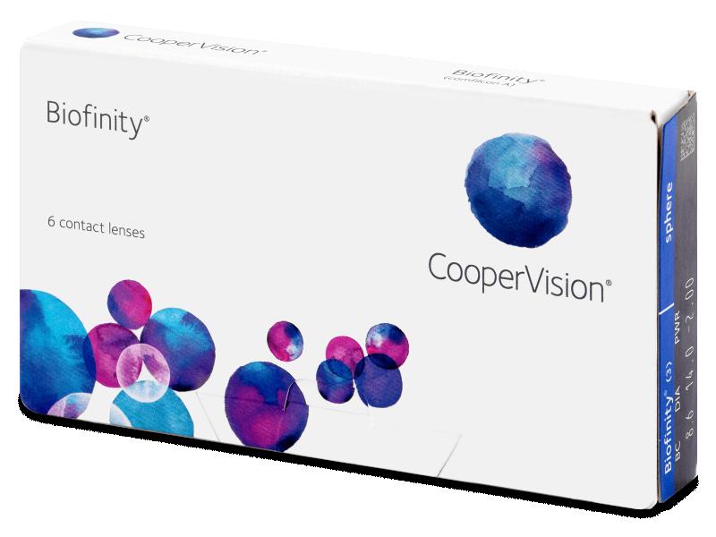 Mesečne kontaktne leče - Biofinity (6leč)