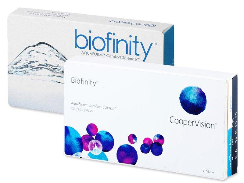 Biofinity (6leč) - Starejši dizajn