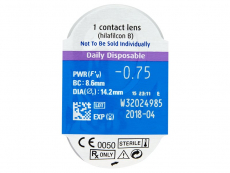 SofLens Daily Disposable (30leč) - Starejši dizajn