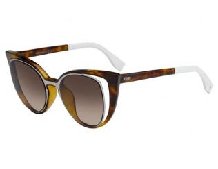Cat Eye sončna očala - Fendi FF 0136/S NY2/J6