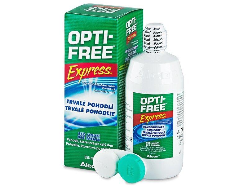 Tekočina OPTI-FREE Express 355 ml  - Tekočina za čiščenje