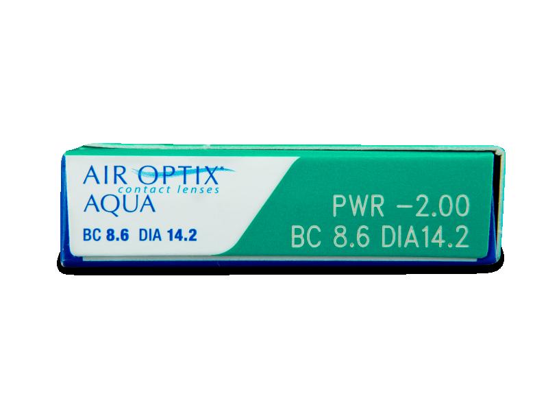 Air Optix Aqua (6leč) - Predogled lastnosti