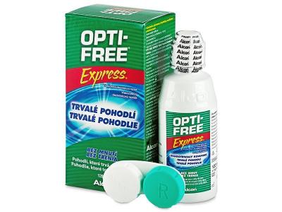 Tekočina za čiščenje - Tekočina OPTI-FREE Express 120ml
