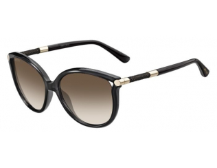 Oversize sončna očala - Jimmy Choo GIORGY/S QCN/JD