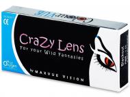 Barvne kontaktne leče - Crazy ColourVUE - 3-mesečne Z DIOPTRIJO (2leči)