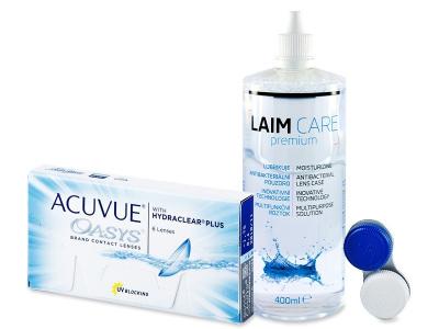 Acuvue Oasys (6leč) + tekočina Laim-Care 400 ml