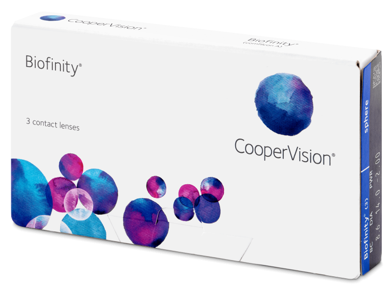Biofinity (3 leče) -  Monthly contact lenses