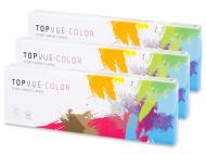 Barvne kontaktne leče - TopVue Daily Color - brez dioptrije (30leč)