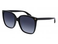 Oversize sončna očala - Gucci GG0022S-001