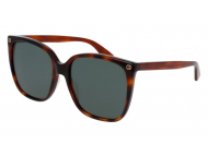 Oversize sončna očala - Gucci GG0022S-002
