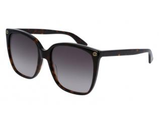 Oversize sončna očala - Gucci GG0022S-003