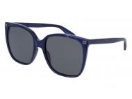 Oversize sončna očala - Gucci GG0022S-005