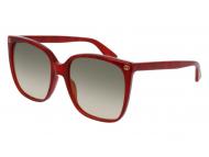 Oversize sončna očala - Gucci GG0022S-006