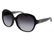 Oversize sončna očala - Gucci GG0080SK-002