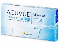 Kontaktne leče Johnson and Johnson - Acuvue Advance PLUS (6 leč)