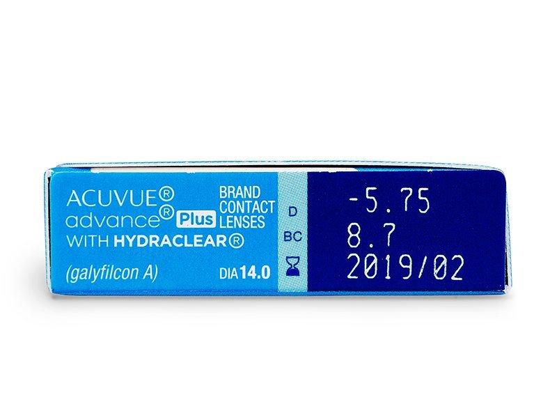 Acuvue Advance PLUS (6leč) - Predogled lastnosti