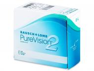 Mesečne kontaktne leče - PureVision 2 (6leč)