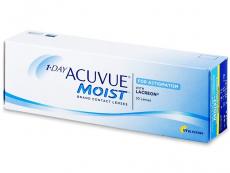 1 Day Acuvue Moist for Astigmatism (30leč) - Torične kontaktne leče