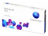 Kontaktne leče CooperVision - Biofinity XR Toric (3 leče)