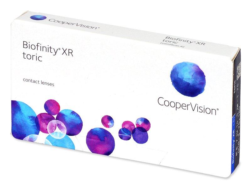 Torične kontaktne leče - Biofinity XR Toric (3 leče)